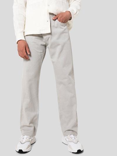 WEEKDAY Jeans 'Space' in hellgrau, Modelansicht