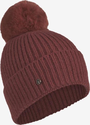 LOEVENICH Strickmütze ' Cozy Winter ' in bordeaux, Produktansicht
