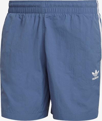 ADIDAS ORIGINALS Badeshorts in taubenblau / weiß, Produktansicht