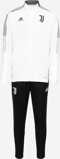 Completo sportivo 'JUVE TK' ADIDAS PERFORMANCE di colore grigio / nero / bianco, Visualizzazione prodotti