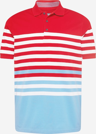 OLYMP Shirt in Light blue / Red / White, Item view
