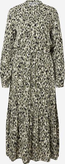 mbym Robe-chemise 'Ellinor' en kaki / noir / blanc, Vue avec produit