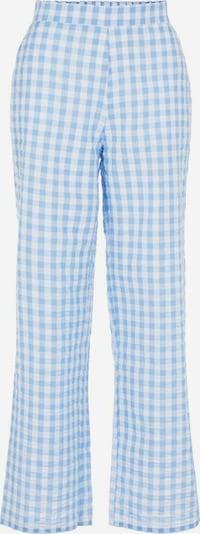 PIECES Hose in blau / weiß, Produktansicht