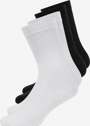 SNOCKS Tennissocken in schwarz / weiß, Produktansicht