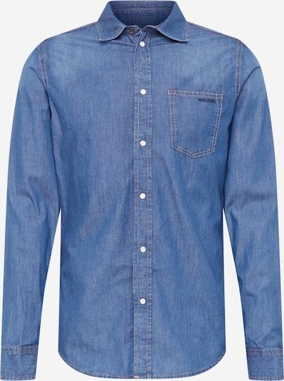 Pepe Jeans Chemise 'PORTER' en bleu denim, Vue avec produit