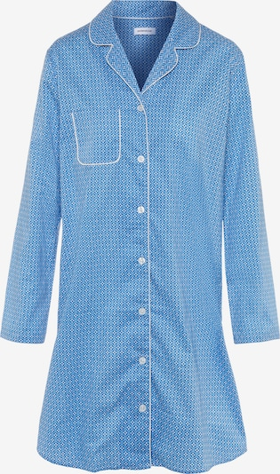 SEIDENSTICKER Longsleeve Nachthemd ' Minimal ' in hellblau, Produktansicht
