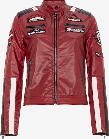 CIPO & BAXX Between-Season Jacket in Red