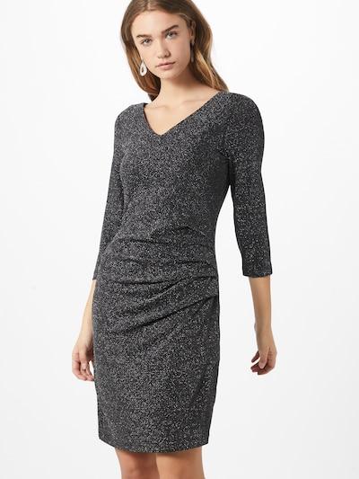 Kaffe Kleid in schwarz / silber, Modelansicht