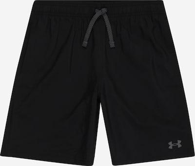 UNDER ARMOUR Shorts in grau / schwarz, Produktansicht