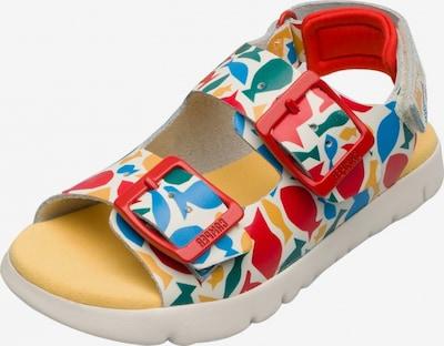 CAMPER Sandalen ' Oruga ' in de kleur Blauw / Gemengde kleuren, Productweergave