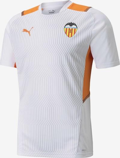 PUMA Maillot 'Valencia CF' en gris clair / orange / blanc, Vue avec produit