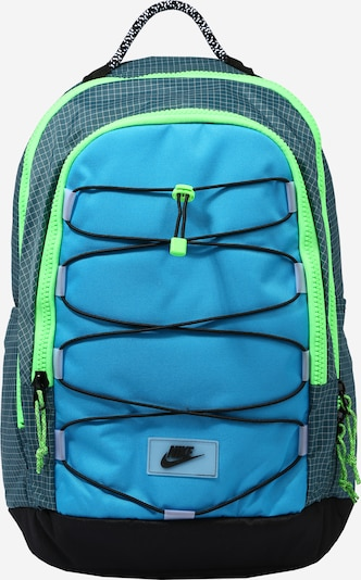 Nike Sportswear Backpack 'Hayward 2.0' in Blue / Green / Petrol, Item view