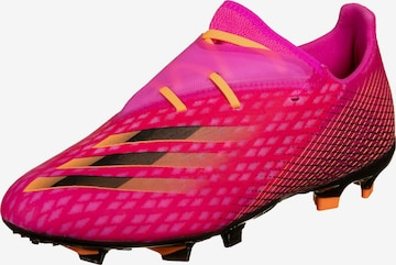 Chaussure de foot 'X Ghosted.2 FG' ADIDAS PERFORMANCE en rose
