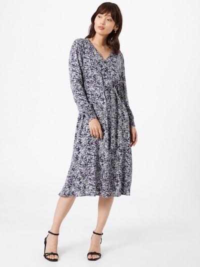PIECES Kleid in dunkelblau / mischfarben, Modelansicht