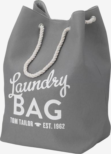 TOM TAILOR Wäschebehälter in grau, Produktansicht
