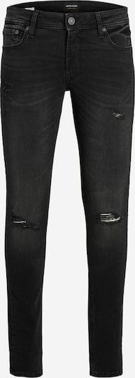 Jack & Jones Junior Jeans 'Liam' in de kleur Black denim, Productweergave