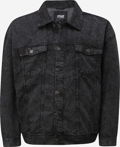 fekete Urban Classics Plus Size Átmeneti dzseki, Termék nézet