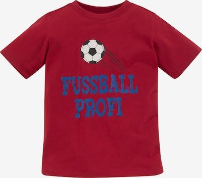 Kidsworld T-Shirt in blau / rot / schwarz / weiß, Produktansicht