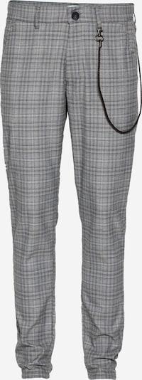 !Solid Pantalon 'Travis' en gris / gris foncé / blanc, Vue avec produit