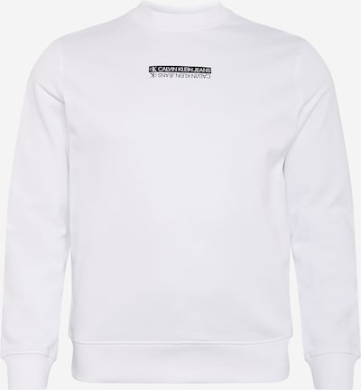 Calvin Klein Jeans Mikina - čierna / biela, Produkt