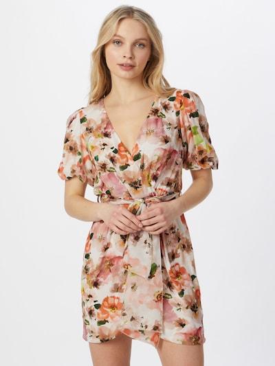 PATRIZIA PEPE Kleid in beige / mischfarben, Modelansicht