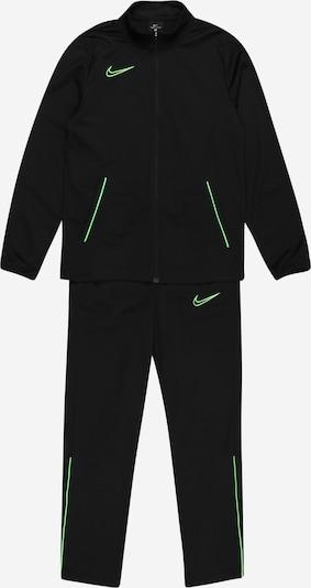 NIKE Sportanzug in neongrün / schwarz, Produktansicht