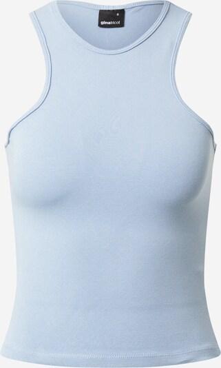 Top 'Lana' Gina Tricot pe albastru deschis, Vizualizare produs