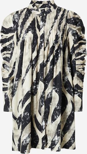 Rochie tip bluză 'TITTI' Copenhagen Muse pe bej / grej / negru, Vizualizare produs