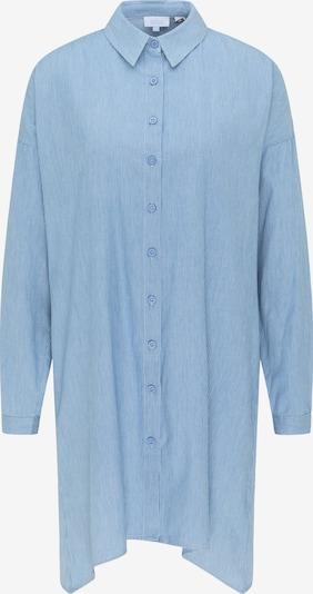 Abito camicia usha BLUE LABEL di colore blu chiaro / bianco, Visualizzazione prodotti