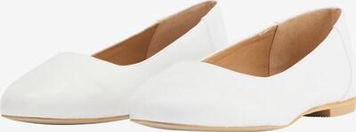 DreiMaster Maritim DreiMaster Maritim Ballerinas in weiß, Produktansicht