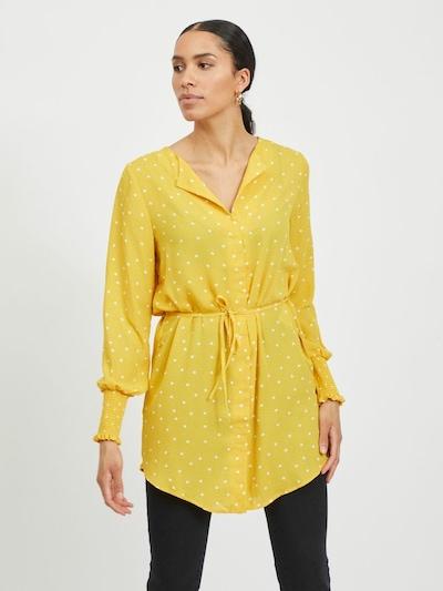 VILA Tuniek in de kleur Geel / Wit, Modelweergave