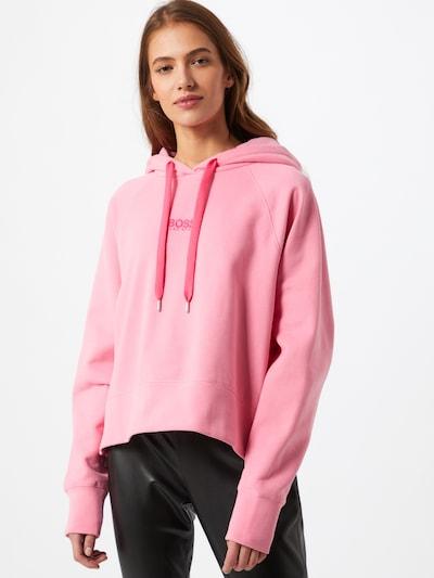 BOSS Sweatshirt 'Elisa' in pink / rosa: Frontalansicht