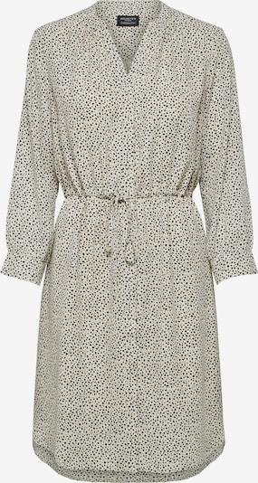 Selected Femme Petite Shirt Dress 'Damina' in Cream / Black: Frontal view