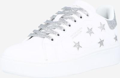 Benetton Footwear Sneaker 'TRIPLE STARS' in silbergrau / weiß, Produktansicht