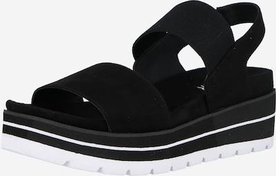 BULLBOXER Sandale in schwarz / weiß, Produktansicht