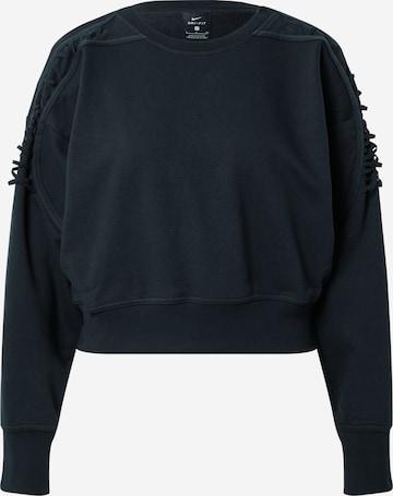 NIKE Sportsweatshirt i svart