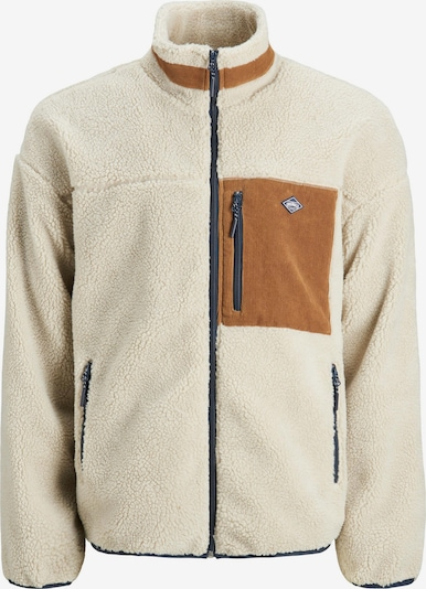 Jachetă  fleece 'WILLI' JACK & JONES pe bej, Vizualizare produs