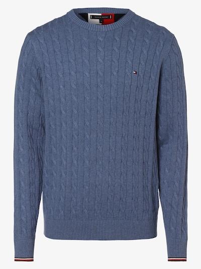 TOMMY HILFIGER Trui in de kleur Lichtblauw, Productweergave