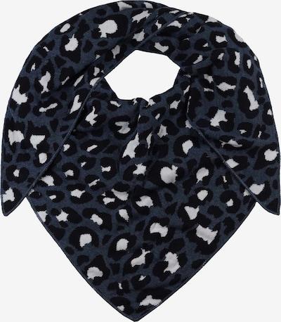 Zwillingsherz Tørklæde 'Zebra' i marin / sort / hvid, Produktvisning