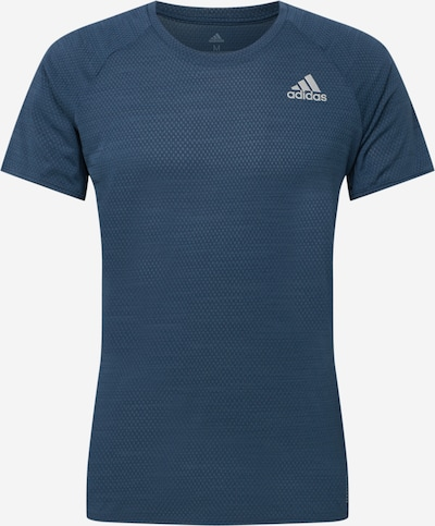 ADIDAS PERFORMANCE Sporta krekls 'Runner' zils / pelēks, Preces skats