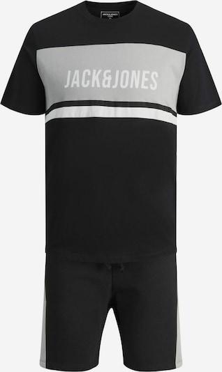 Tuta da jogging JACK & JONES di colore grigio / nero / bianco, Visualizzazione prodotti