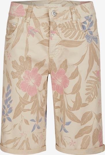 Angels Shorts in beige / blau / pink, Produktansicht