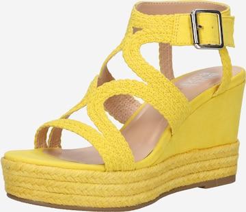 BULLBOXER Sandale ' 175030F2T ' in Gelb