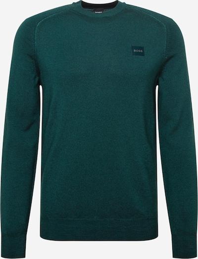 BOSS Casual Pulover 'Anserlot' u tamno zelena, Pregled proizvoda