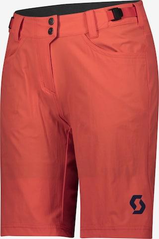 SCOTT Workout Pants 'Trail Flow' in Orange