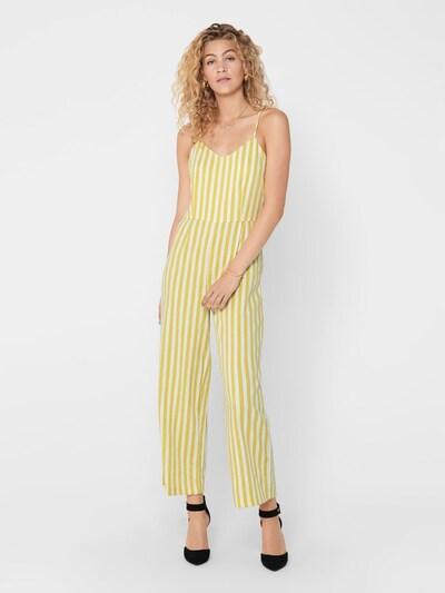 Tuta jumpsuit ONLY di colore giallo / bianco, Visualizzazione modelli