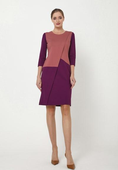 Madam-T Kleid 'ELMA' in lila, Modelansicht