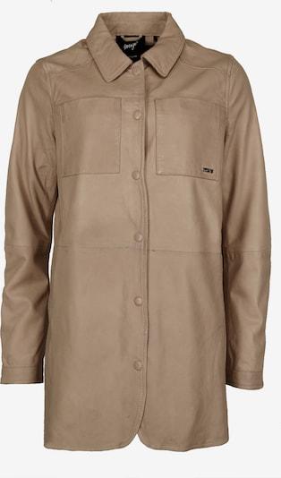 Maze Mantel '42020135' in taupe, Produktansicht