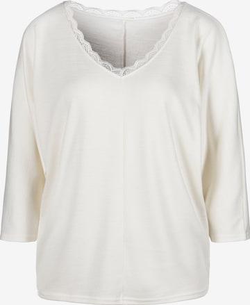 balta LASCANA Marškinėliai