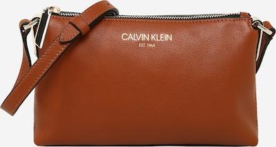 Calvin Klein Sac à bandoulière en cognac, Vue avec produit